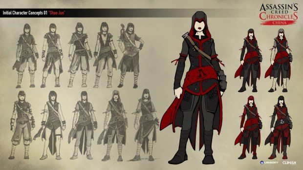 Assassin's Creed Chronicles: China - galleria immagini