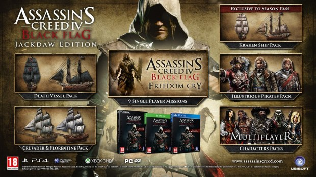 Assassin's Creed IV: Black Flag - Jackdaw Edition - galleria immagini