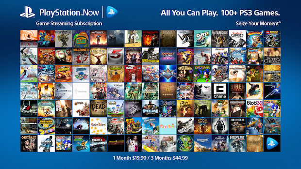 playstation now sottoscrizione
