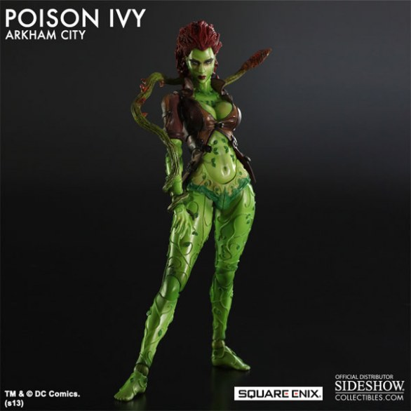 Batman: Arkham City, l\\\'action figure di Poison Ivy