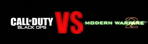 Call of Duty Black Ops VS. Modern Warfare 2 - immagini comparative