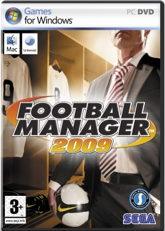Copertina Football Manager 2009