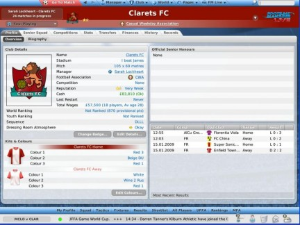 Football Manager Live - immagini