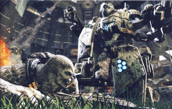 Gears of War 3: scans da Game Informer