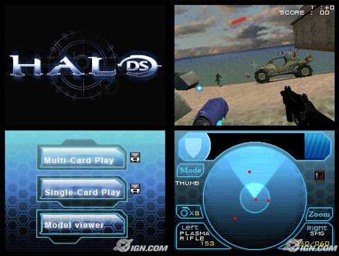 Halo ds