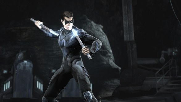 Injustice: Gods Among Us - immagini di Nightwing e Cyborg