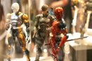 Metal Gear Solid e Zone of the Enders Action Figures: immagini