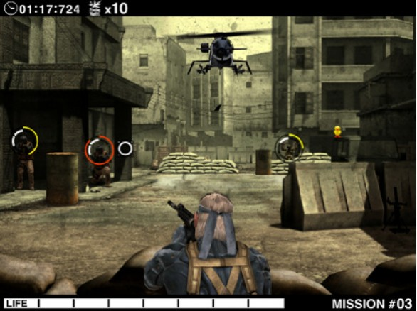 Metal Gear Solid Touch (iPad)