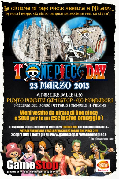 One Piece Day - la locandina dell\\\'evento