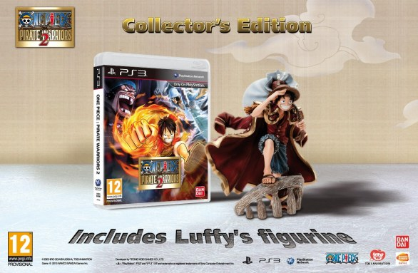 One Piece: Pirate Warriors 2 - immagine della Collector\\\'s Edition