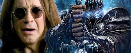 Wrath of the Lich King: pubblicità con Ozzy Osbourne