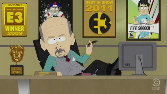 Peter Moore di EA Sports in South Park