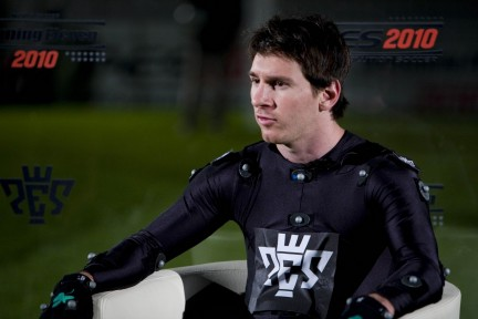 Pro Evolution Soccer 2010 - Lionel Messi motion capture