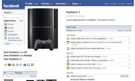 Accedere a Facebook da PlayStation 3? In futuro si potrà