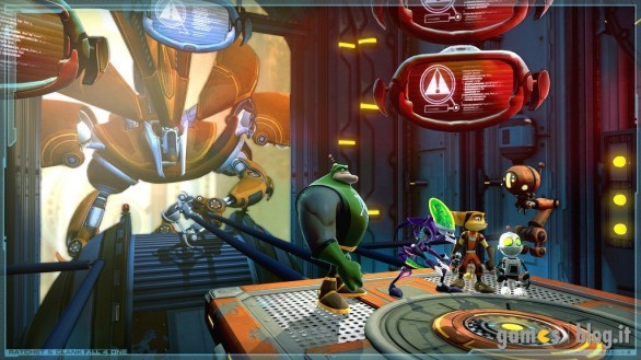 Ratchet and Clank: All 4 One - galleria immagini