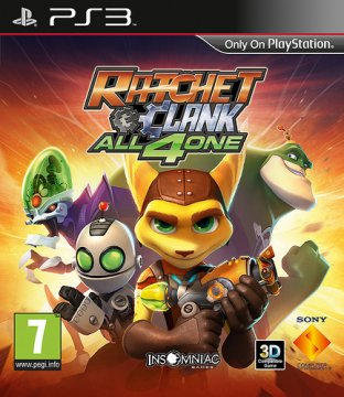 Ratchet & Clank: All 4 One - la recensione
