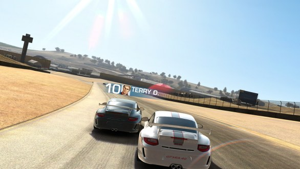 Real Racing 3: prima immagine su iPhone 5