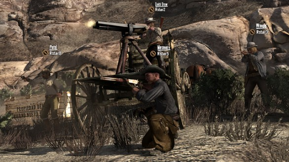 Red Dead Redemption: immagini del pacchetto Outloaws to the End