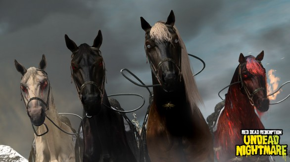 Red Dead Redemption: immagini dell'Undead Nightmare Pack