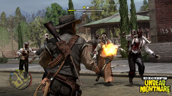 Red Dead Redemption: immagini del DLC Undead Nightmare Pack