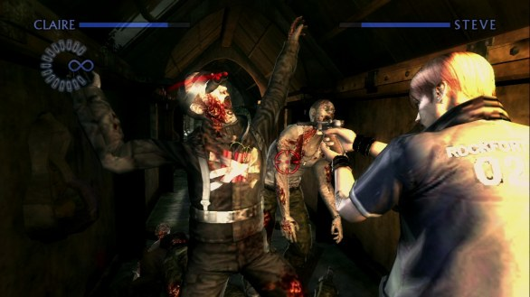 Resident Evil Chronicles HD Collection: immagini