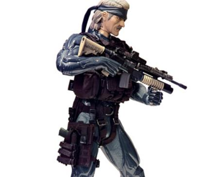 Snake Action Figure Metal Gear Solid 4