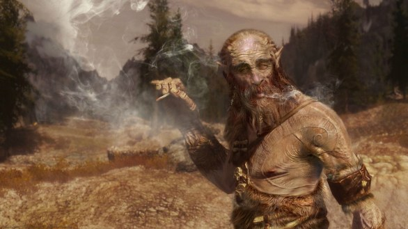 The Elder Scrolls V: Skyrim - Dezzz fan art