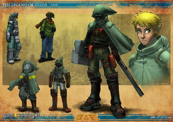 The Legend of Zelda in chiave post apocalittica: guarda gli artwork di Echoes of the Future