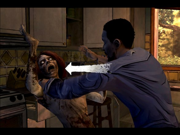 The Walking Dead: Episode 1 (iOS) - prime immagini