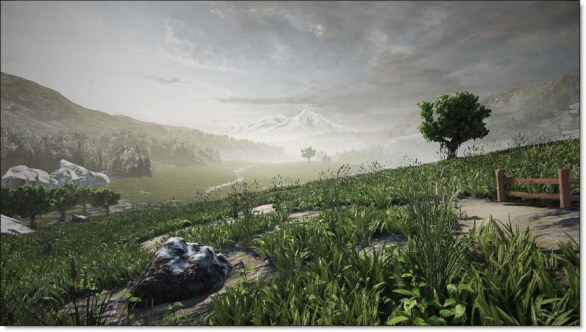 Unreal Engine 3 Foliage System