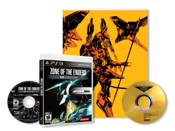 Zone of the Enders HD Collection: nuove immagini