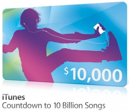 Countdown to 10 Billion Songs