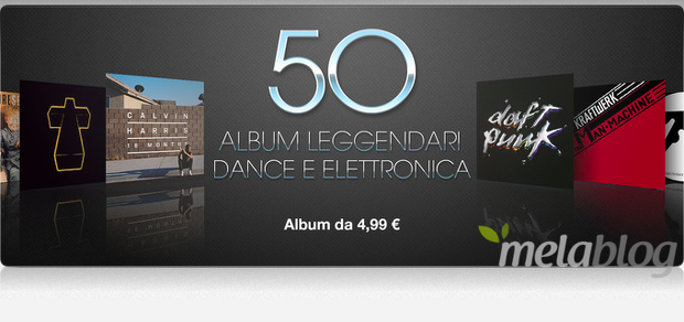 50 Album scontati su iTunes Store