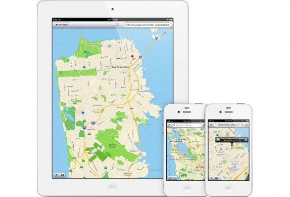 ios6 mappe apple