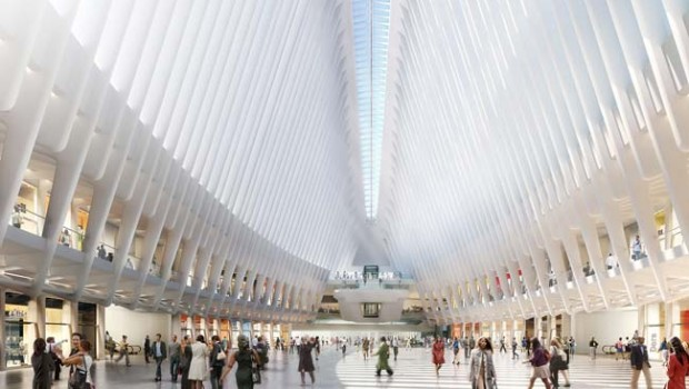 Un apple store presso il one world trade center for Interieur world trade center