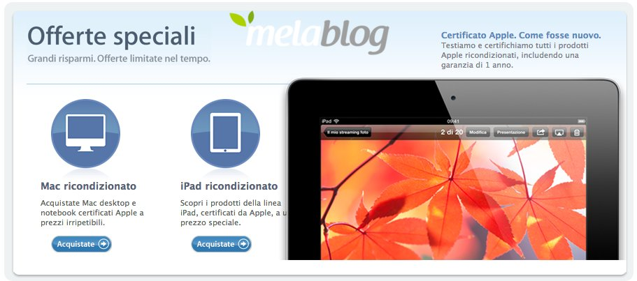 iPad 4 Retina sul Refurbished Store italiano