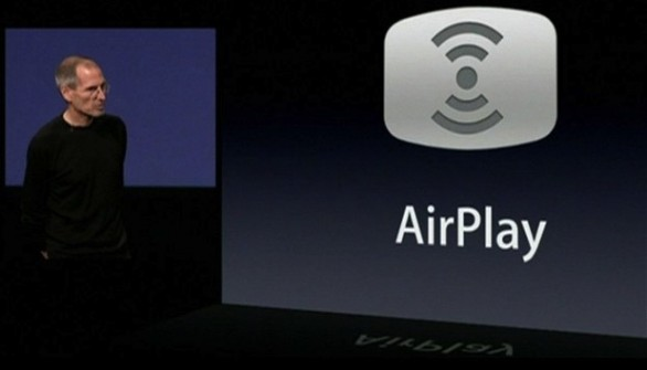 AirPlay steve jobs