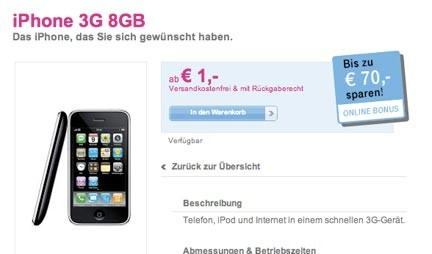 iPhone ad 1 euro