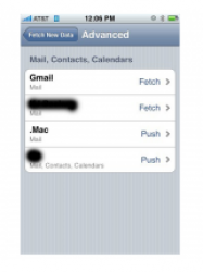iPhone 2.0 supporterà l'email in tempo reale via .Mac?
