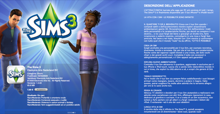 The Sims 3 disponibile su App Store