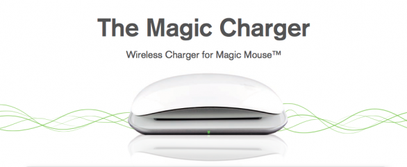 Magic Charger, caricatore a induzione per Magic Mouse