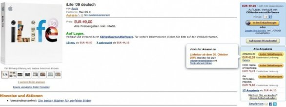 iLife il 20 ottobre su Amazon Germany