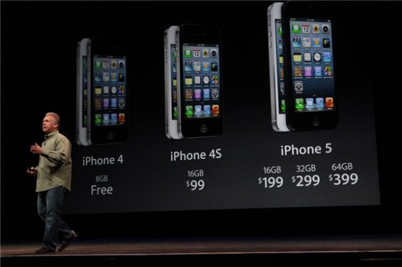 Live Apple 2012: iPhone 5 i prezzi in dollari