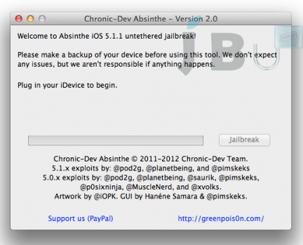 Absinthe 2.0: jailbreak untethered iOS 5.1.1 disponibile per iPhone, iPad e iPod Touch