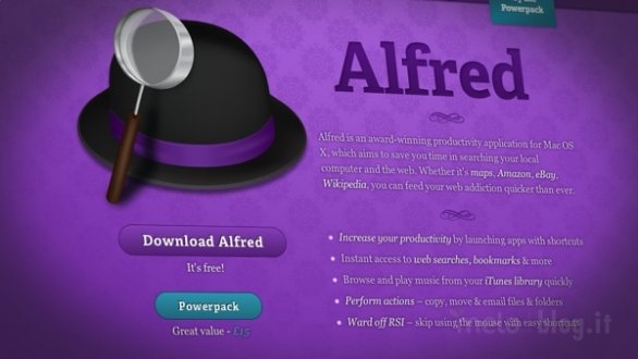 alfred app
