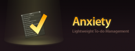 Anxiety: to-do list per OS X