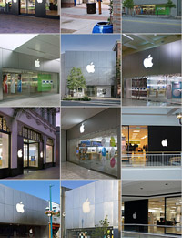 apple stores front