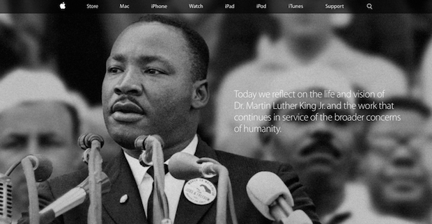 Martin Luther King Jr Apple