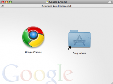 rima build di google chrome per mac