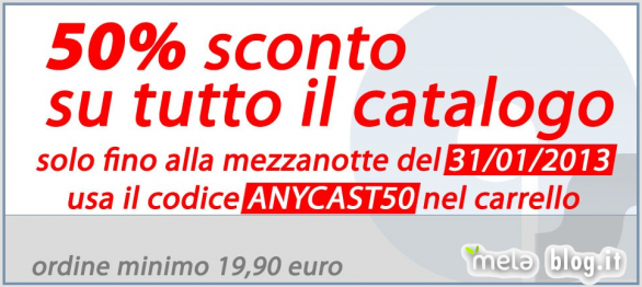 Anycast-Solutions: 50% di sconto